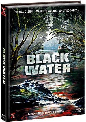Black Water (2007) (Cover B, Edizione Limitata, Mediabook, Uncut, Blu-ray + DVD)