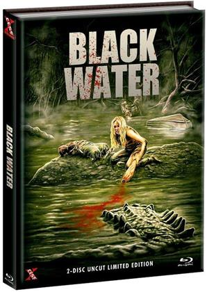 Black Water (2007) (Cover C, (Cover A Version), Edizione Limitata, Mediabook, Uncut, Blu-ray + DVD)