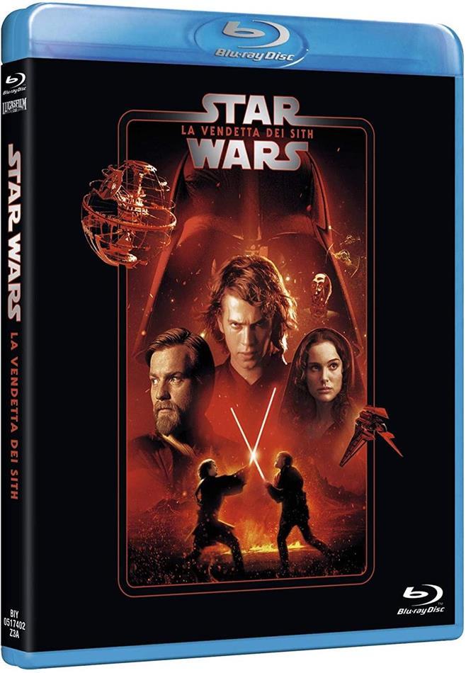 Star Wars - Episodio 3 - La vendetta dei Sith (2005) (Line Look, Riedizione, 2 Blu-ray)