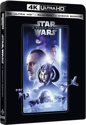 Star Wars - Episodio 1 - La minaccia fantasma (1999) (Line Look, Neuauflage, 4K Ultra HD + 2 Blu-rays)