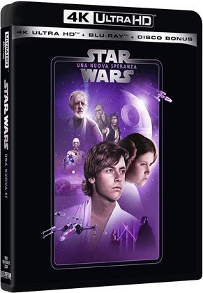 Star Wars - Episodio 4 - Una nuova speranza (1977) (Line Look, Neuauflage, 4K Ultra HD + 2 Blu-rays)