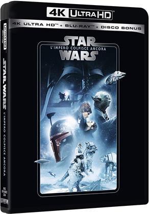 Star Wars - Episodio 5 - L'impero colpisce ancora (1980) (Line Look, Riedizione, 4K Ultra HD + 2 Blu-ray)