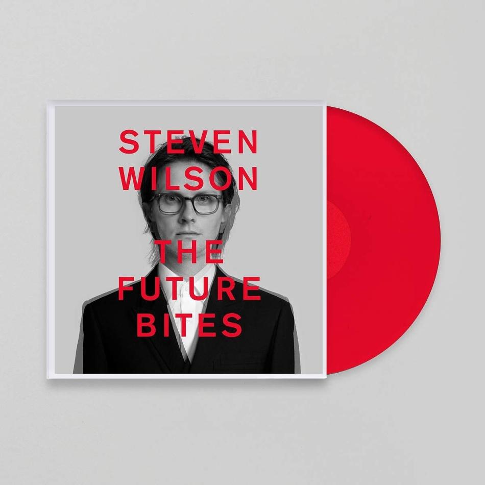 Steven Wilson (Porcupine Tree) - The Future Bites (Gatefold, Limited Edition, Red Vinyl, LP)