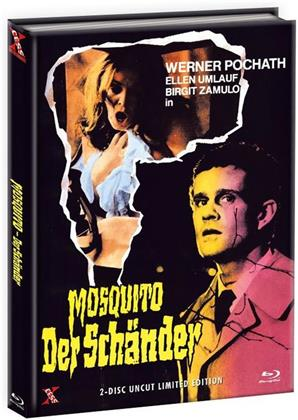Mosquito - Der Schänder (1977) (Cover A, Limited Edition, Mediabook, Uncut, Blu-ray + DVD)
