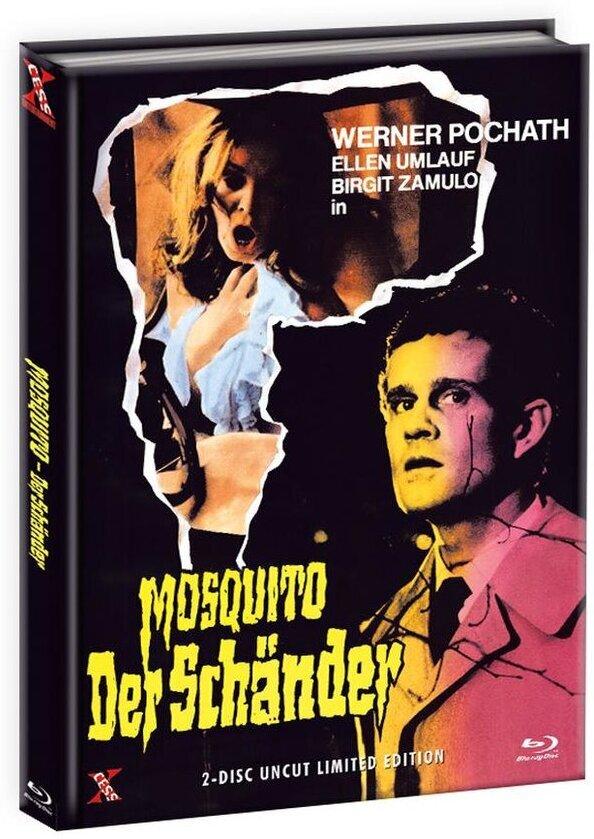 Mosquito - Der Schänder (1977) (Cover A, Edizione Limitata, Mediabook, Uncut, Blu-ray + DVD)