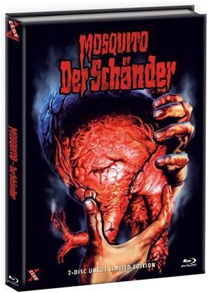 Mosquito - Der Schänder (1977) (Cover B, Edizione Limitata, Mediabook, Uncut, Blu-ray + DVD)