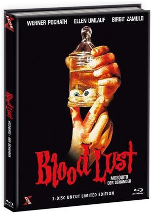 Blood Lust - Mosquito - Der Schänder (1977) (Cover C, (Cover A Version), Edizione Limitata, Mediabook, Uncut, Blu-ray + DVD)