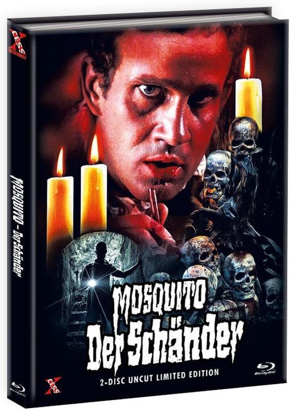 Mosquito - Der Schänder (1977) (Cover D, Limited Edition, Mediabook, Uncut, Blu-ray + DVD)