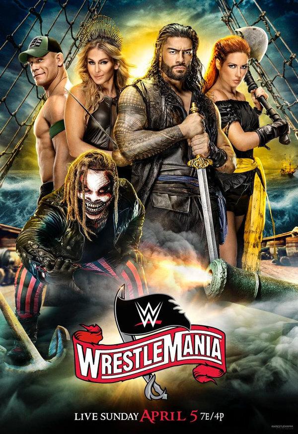 WWE: Wrestlemania 36 (3 DVDs)