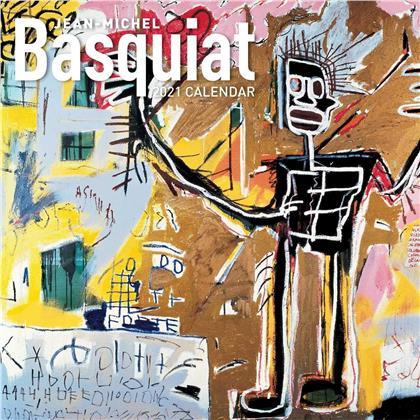 Jean-Michel Basquiat 2021 Wall Calendar