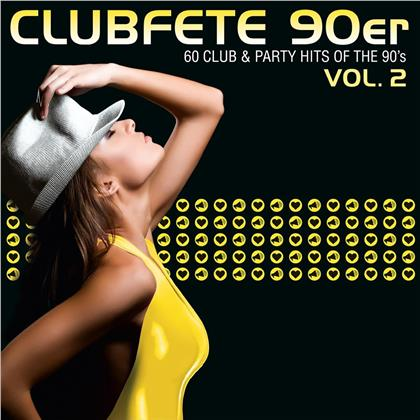 Clubfete 90er,Vol.2 (60Club&Party Hits Of The 90's) (3 CDs)