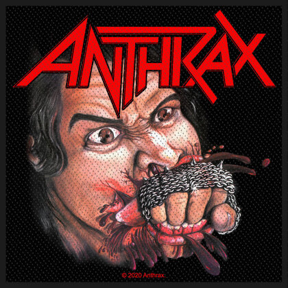 Anthrax Standard Patch - Fistful of Metal (Loose)