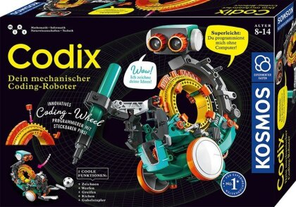 Codix - Dein mechanischer Coding-Roboter