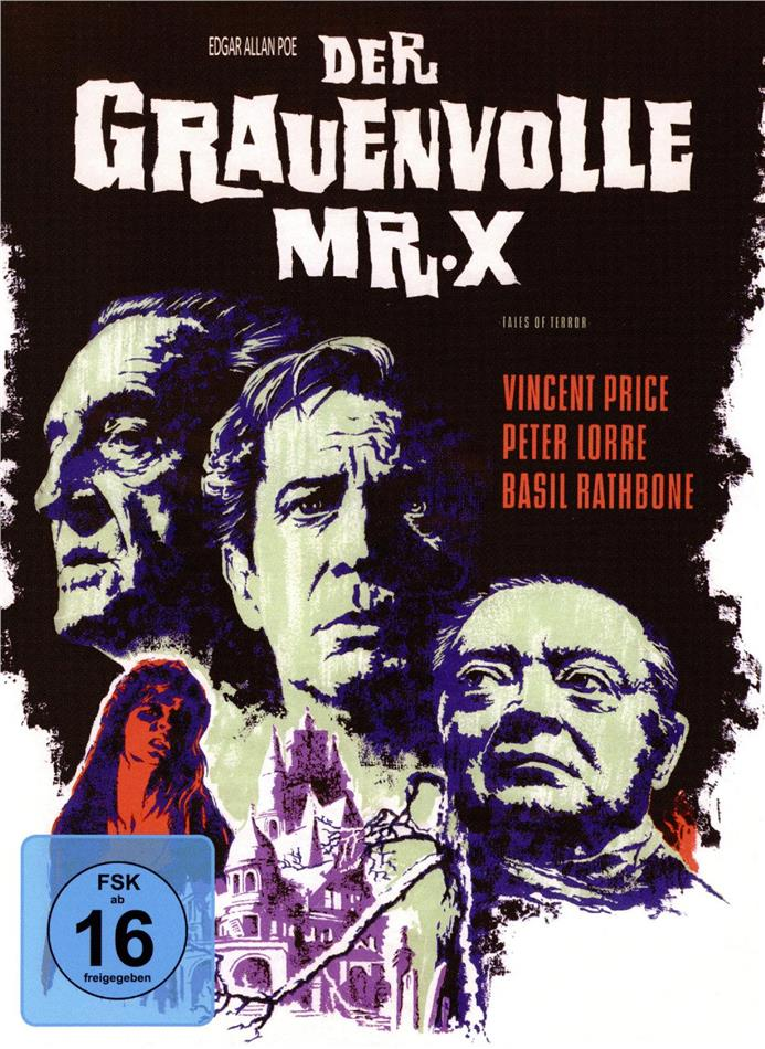 Der grauenvolle Mr. X (1962) (Cover A, Phantastische Filmklassiker, Limited Edition, Mediabook)