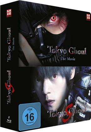 Tokyo Ghoul - The Movie 1 & 2 (Limited Steelcase Edition, 2 Blu-rays)