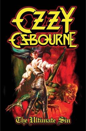 Ozzy Osbourne - Ultimate Sin Textil Poster