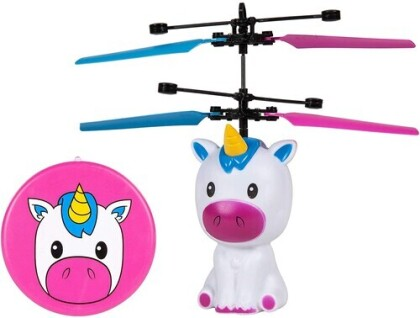Flying Figure - Unicorn 3.5 Inch Motion Sensing Ir Ufo Helicopter