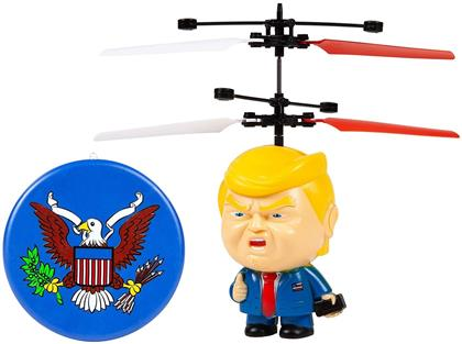 Rc Figures - Donald Trump Motion Sensing 3.5 Inch Ufo