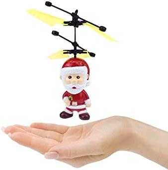 Rc Figures - Santa Claus Motion Sensing 3.5 Inch Ufo Helicopter