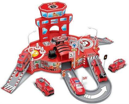 Playsets - Diecast Cruisers 1:64 Fire Depot Playset