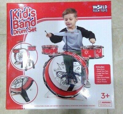 Playsets - Big Band Drum Set (red or blue)