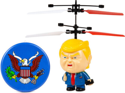 Ufo Ball Helicopter - Donald Trump Motion Sensing Ir Ufo Ball Helicopter