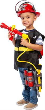 Playsets - Deluxe Fire Fighter Playset With Fire Extinguisher