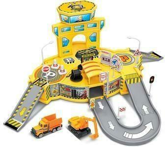 Playsets - Diecast Cruisers 1:64 Construction Depot Playset