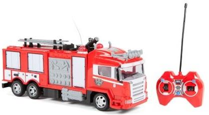 Rc Vehicles - Fire Truck Remote Control Truck W/ Light Up Lights