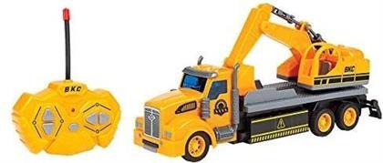 Rc Vehicles - Big Kids Construction 1:48 Rc Semi Truck Excavator