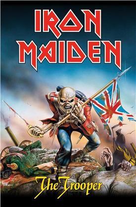 Iron Maiden - The Trooper - Textile Flag