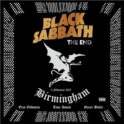 Black Sabbath - The End - Live In Birmingham 4. February 2017 (2020 Reissue, 2014 Edition, Transparent Blue Vinyl, 3 LPs)