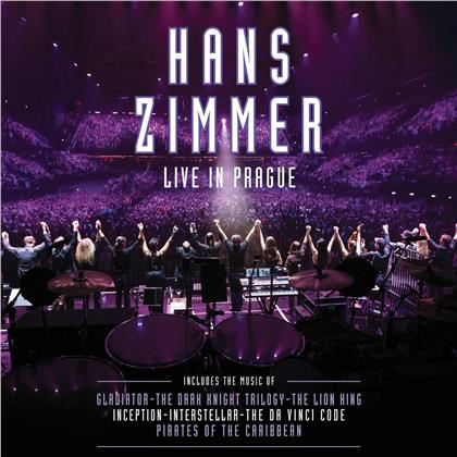 Hans Zimmer - Live In Prague (2020 Reissue, Purple Vinyl, 4 LPs)