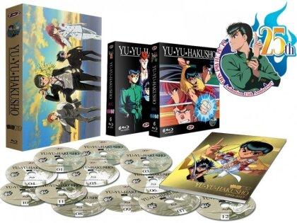 Yu Yu Hakusho - Intégrale (25th Anniversary Edition, 12 Blu-rays)