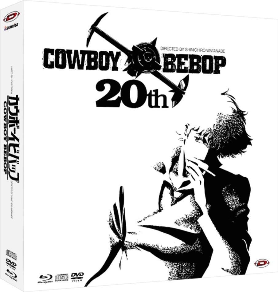 Cowboy Bebop (20th Anniversary Collector's Edition, 5 Blu-rays + 9 DVDs + 3 CDs)