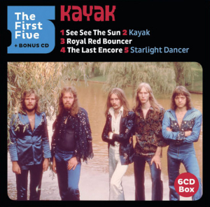 Kayak - First Five (Boxset, Limited Edition, 6 CDs)