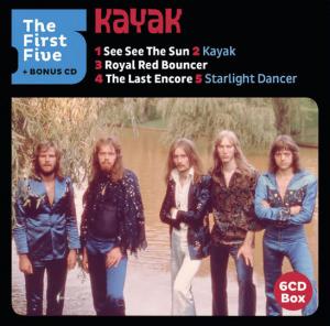 Kayak - First Five (Boxset, Édition Limitée, 6 CD)