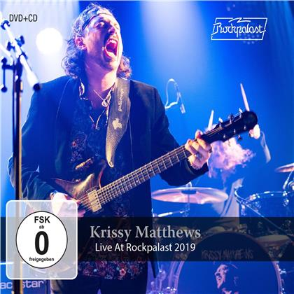 Krissy Matthews - Live At Rockpalast 2019 (CD + DVD)