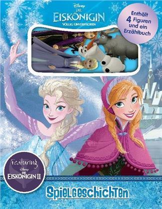 Eiskönigin 2 - Pappbilderbuch + 4 Sammelfiguren + Aufbewahrungsbox