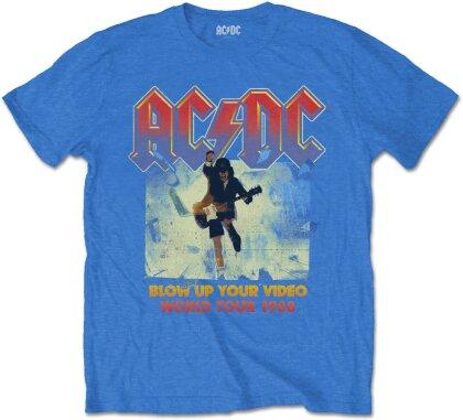 AC/DC Unisex T-Shirt - Blow Up Your Video