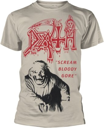 Death - Scream Bloody Gore (Vintage White)