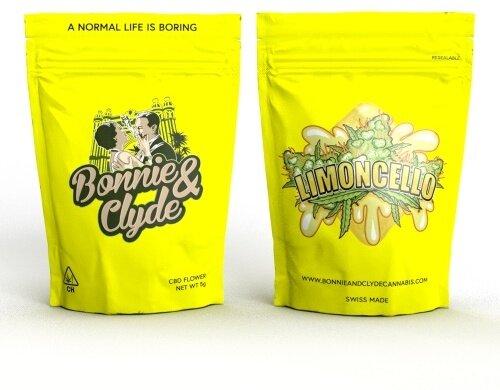 Bonnie & Clyde Limoncello/Ice Cream (10g) - (11% CBD 0.4% THC)