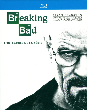 Breaking Bad - Saisons 1-5.2 - Intégrale de la série (16 Blu-rays)