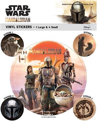 Star Wars: The Mandalorian - Legacy - Vinyl Sticker Pack