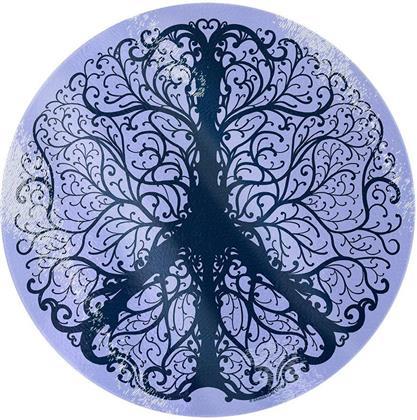 Peaceful Tree of Life - Glass Chopping Board