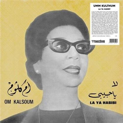 Oum Kalsoum - La Ya Habibi (LP)
