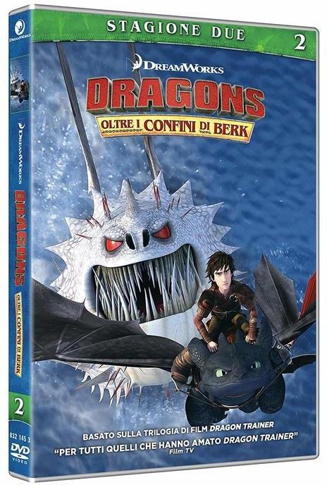 Dragon Trainer - Oltre i confini di Berk - Stagione 2 (2 DVDs)