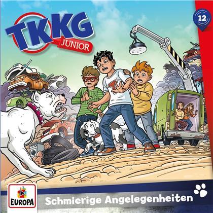 TKKG Junior - 012/Schmierige Angelegenheiten