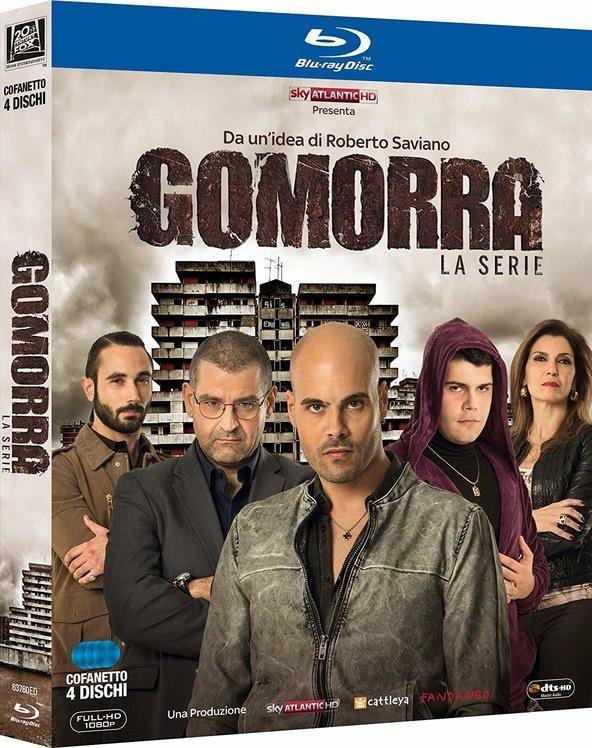Gomorra - Stagione 1 (Neuauflage, 4 Blu-rays)