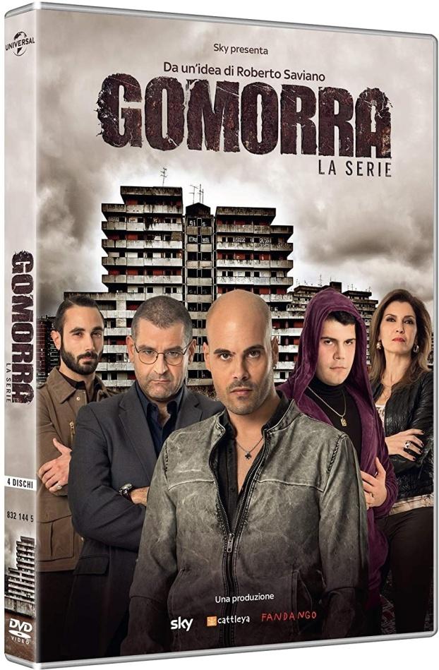 Gomorra - Stagione 1 (Neuauflage, 4 DVDs)